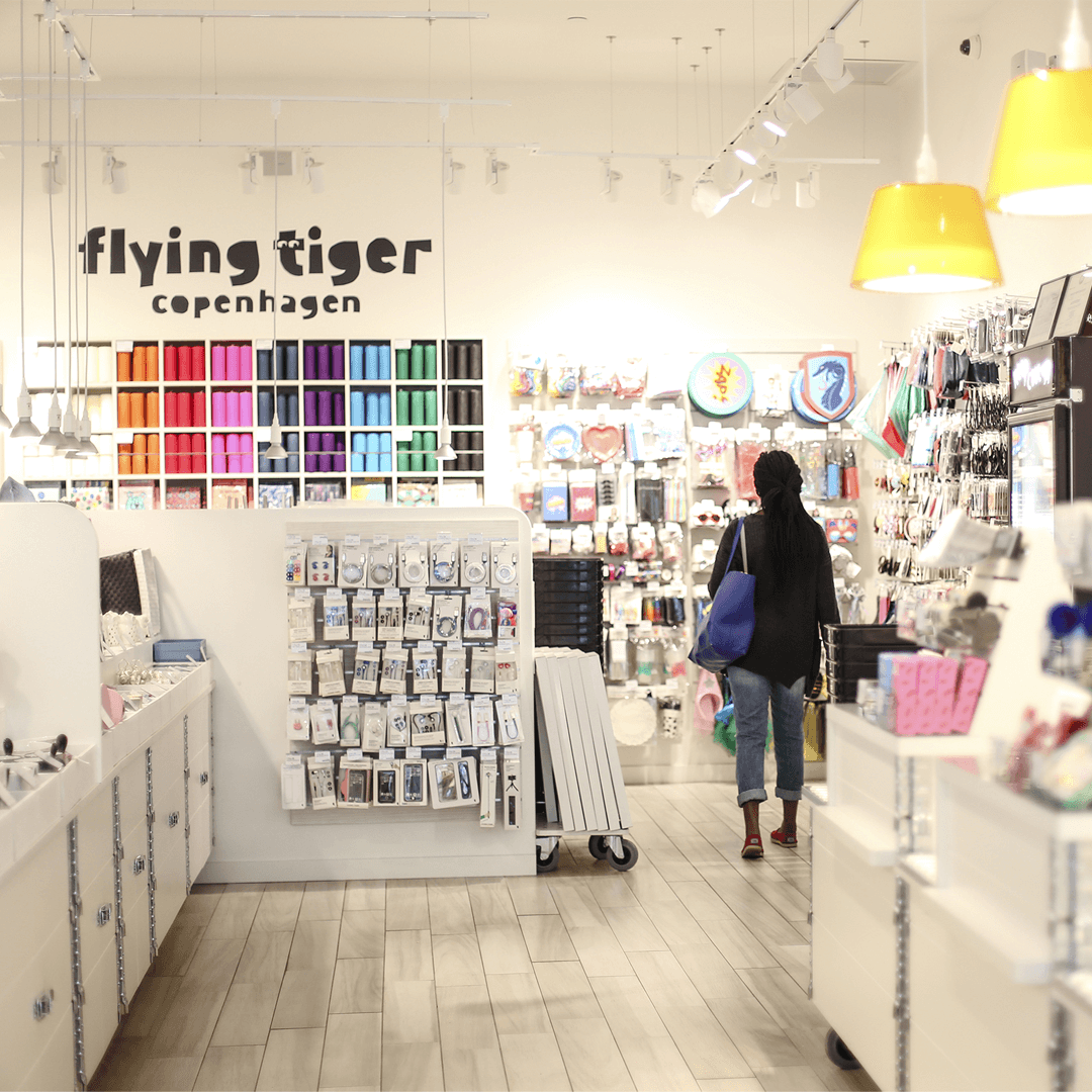 Flying Tiger Copenhagen - öppnar Pop-Up